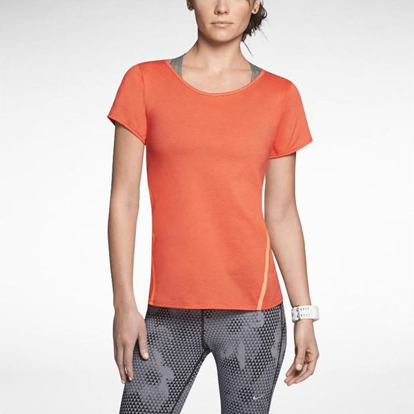 Imagem de Nike Tailwind Loose Short-Sleeve Running Shirt